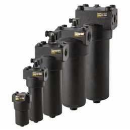 Donaldson heavy-duty high-pressure filters sit behind pumps and other movers to protect critical hydraulic components such as cylinders, motors and valves. All contain our SYNTEC® synthetic filter media, specially developed by Donaldson for high efficiency liquid filtration. Working pressures ranges from 2000 psi.